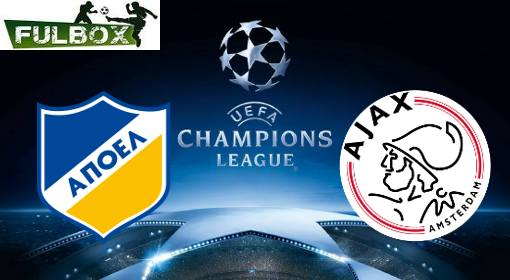 APOEL vs Ajax EN VIVO Hora, Canal, Dónde ver Playoffs Champions League 2019-2020