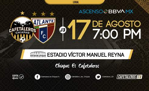 Cafetaleros vs Atlante