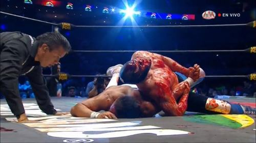 Repetición Triplemania 2019 Blue Demon Jr vs Dr Wagner Jr