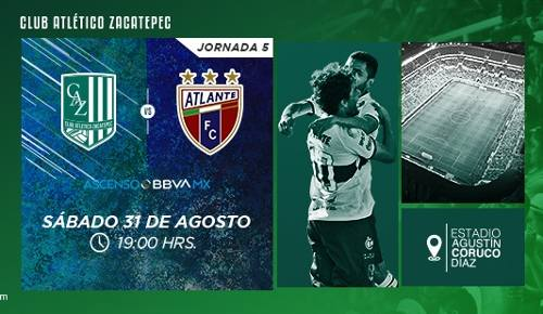 Zacatepec vs Atlante