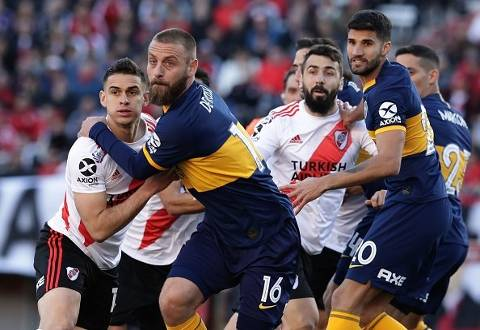 River Plate vs Boca Juniors 0-0 Superliga Argentina 2019