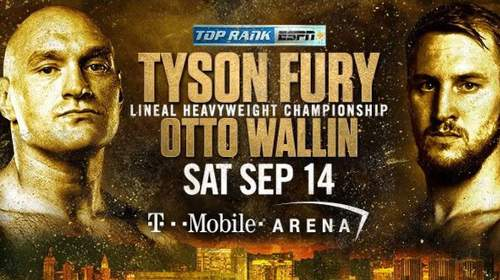 Tyson Fury vs Otto Wallin