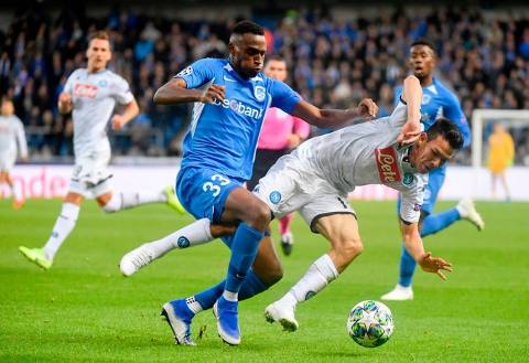 Genk vs Napoli 0-0 Jornada 2 Champions League 2019-2020