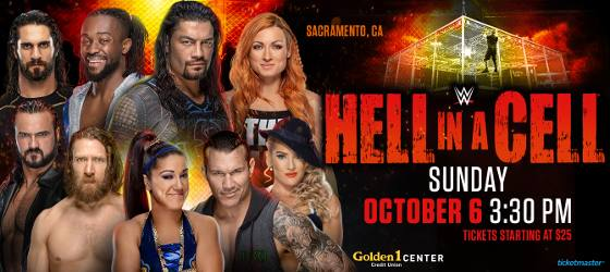 WWE Hell in a Cell EN VIVO