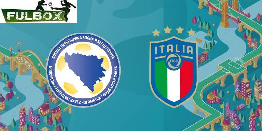 Bosnia vs Italia en VIVO