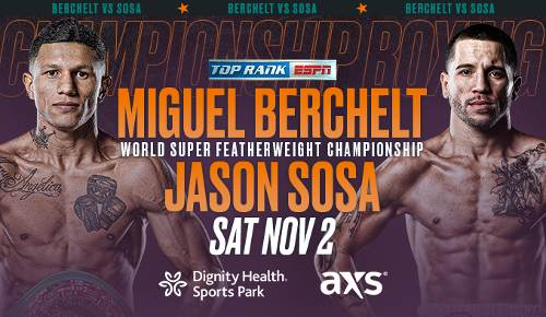 Miguel Berchelt vs Jason Sosa EN VIVO