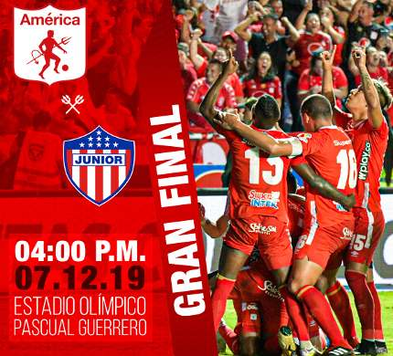 América de Cali vs Junior en VIVO