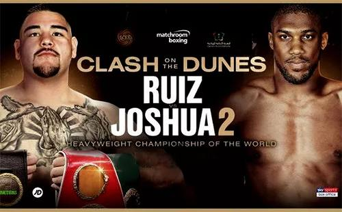 Andy Ruiz vs Anthony Joshua EN VIVO