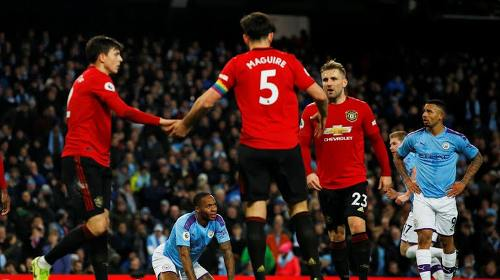 [Vídeo] Resultado, Resumen y Goles Manchester City vs Manchester United 1-2 Premier League 2019-2020
