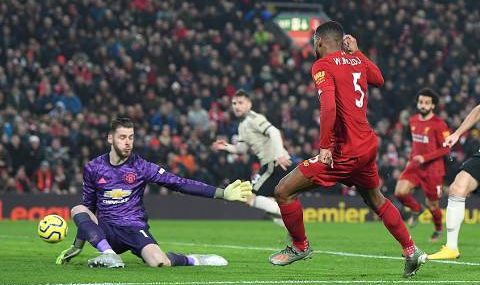 [Vídeo] Resultado, Resumen y Goles Liverpool vs Manchester United 2-0 Premier League 2019-2020