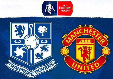 Tranmere Rovers vs Manchester United