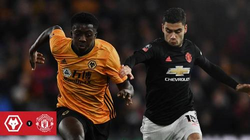 Wolves vs Manchester United 0-0 FA Cup 2019-2020