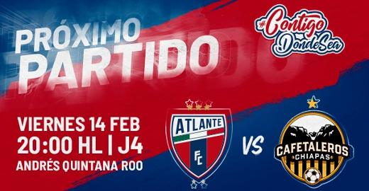 Atlante vs Cafetaleros