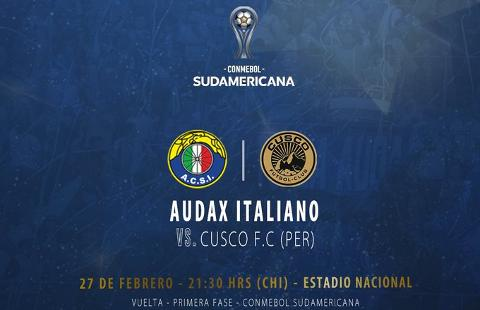 Audax Italiano vs Cusco
