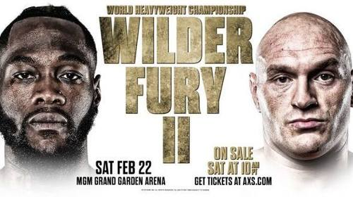 Deontey Wilder vs Tyson Fury EN VIVO 2 Revancha Transmisión TV, Dónde ver Pelea Box 2020
