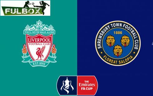 Liverpool vs Shrewsbury Town