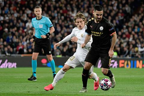 Real Madrid vs Manchester City 1-2 Octavos de Final Champions League 2019-2020