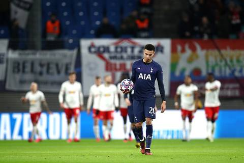 RB Leipzig vs Tottenham 3-0 Octavos de Final Champions League 2019-2020