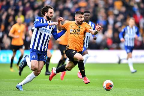 Wolves vs Brighton 0-0 Premier League 2019-2020