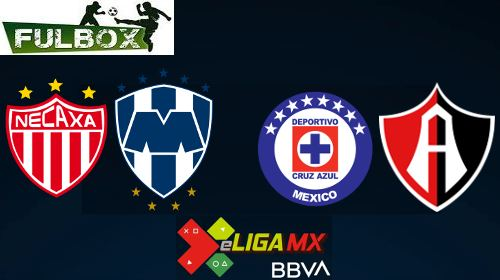 Necaxa vs Monterrey - Cruz Azul vs Atlas
