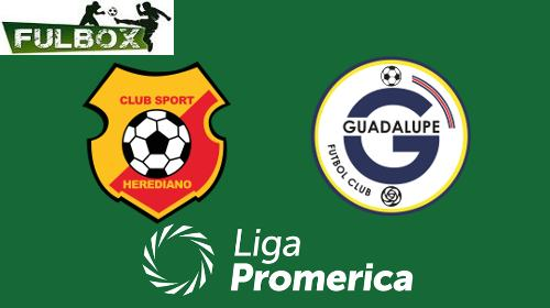 Herediano vs Guadalupe