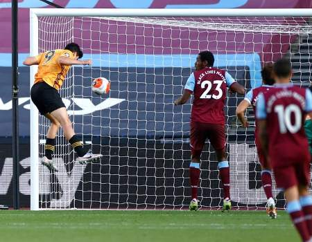 West Ham vs Wolves 0-2 Jornada 30 Premier League 2019-2020
