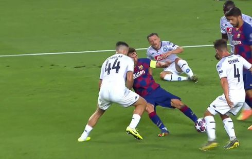 Barcelona vs Napoli 3-1 Octavos de Final Champions League 2019-2020