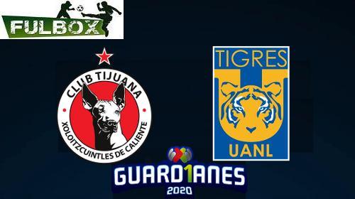 Resultado: Tijuana vs Tigres [Vídeo Resumen] ver Jornada 3 Torneo Apertura 2020