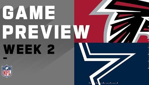 Dallas Cowboys vs Atlanta Falcons EN VIVO Hora, Canal, Dónde ver Semana 2 NFL 2020