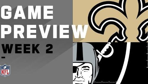 Resultado: Las Vegas Raiders vs New Orleans Saints [Vídeo Resumen] ver Semana 2 NFL 2020