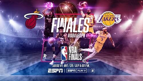 Los Ángeles Lakers vs Miami Heat EN VIVO Hora, Canal, Dónde ver Juego 1 Final NBA 2020