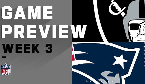 New England Patriots vs Las Vegas Raiders