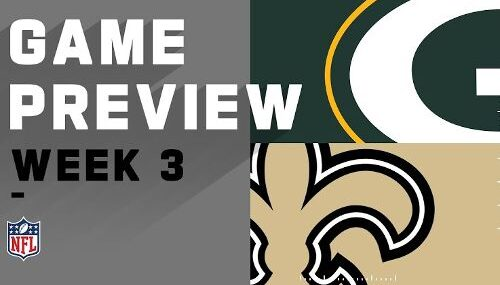 New Orleans Saints vs Green Bay Packers EN VIVO Hora, Canal, Dónde ver Semana 3 NFL 2020