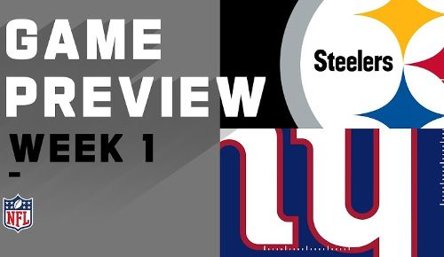 New York Giants vs Pittsburgh Steelers
