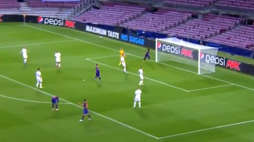 [Vídeo] Repetición Gol Ansu Fati Barcelona vs Ferencváros 2-0 Champions League 2020-21