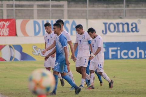Honduras vs Nicaragua 1-1 Amistoso Octubre 2020