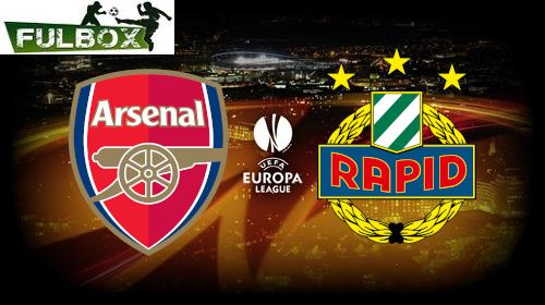 Arsenal vs Rapid Viena EN VIVO Hora, Canal, Dónde ver Jornada 5 Europa League 2020-21
