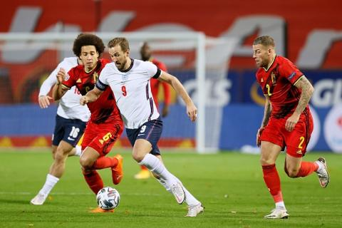 Bélgica vs Inglaterra 2-0 Jornada 5 UEFA Nations League 2020-21