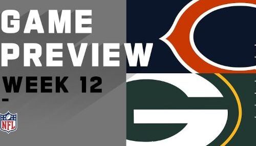 Green Bay Packers vs Chicago Bears EN VIVO Hora, Canal, Dónde ver Semana 12 NFL 2020