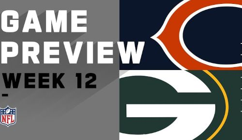 Green Bay Packers vs Chicago Bears