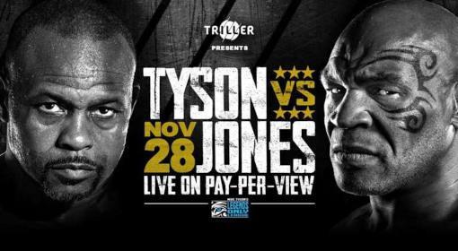 Mike Tyson vs Roy Jones EN VIVO Hora, Canal, Dónde ver Pelea Box 2020