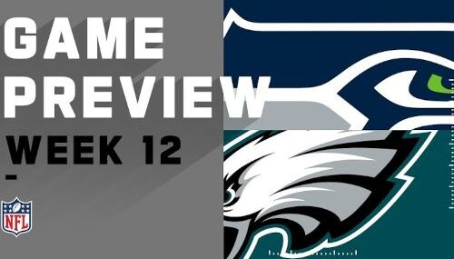 Philadelphia Eagles vs Seattle Seahawks EN VIVO Hora, Canal, Dónde ver Semana 12 NFL 2020