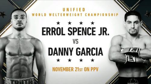 Errol Spence vs Danny García