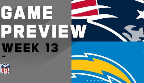 Los Ángeles Chargers vs New England Patriots