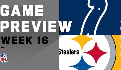 Pittsburgh Steelers vs Indianapolis Colts