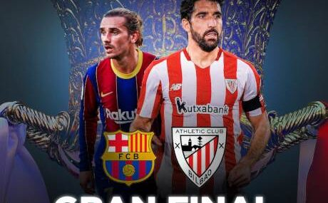 Barcelona vs Athletic Bilbao EN VIVO Hora, Canal, Dónde ver Final Supercopa de España 2021