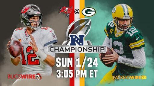 Green Bay Packers vs Tampa Bay Buccaneers EN VIVO Hora, Canal, Dónde ver Campeonato Conferencia NFL 2021