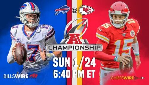 Kansas City Chiefs vs Buffalo Bills EN VIVO Hora, Canal, Dónde ver Campeonato Conferencia NFL 2021