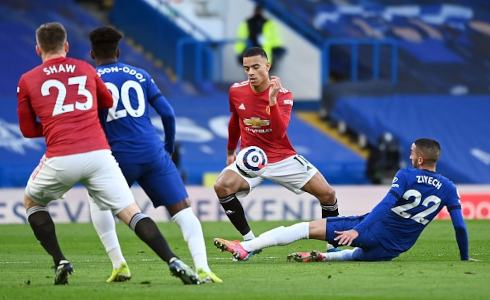 Chelsea vs Manchester United 0-0 Premier League 2020-2021