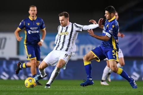Hellas Verona vs Juventus 1-1 Serie A 2020-2021